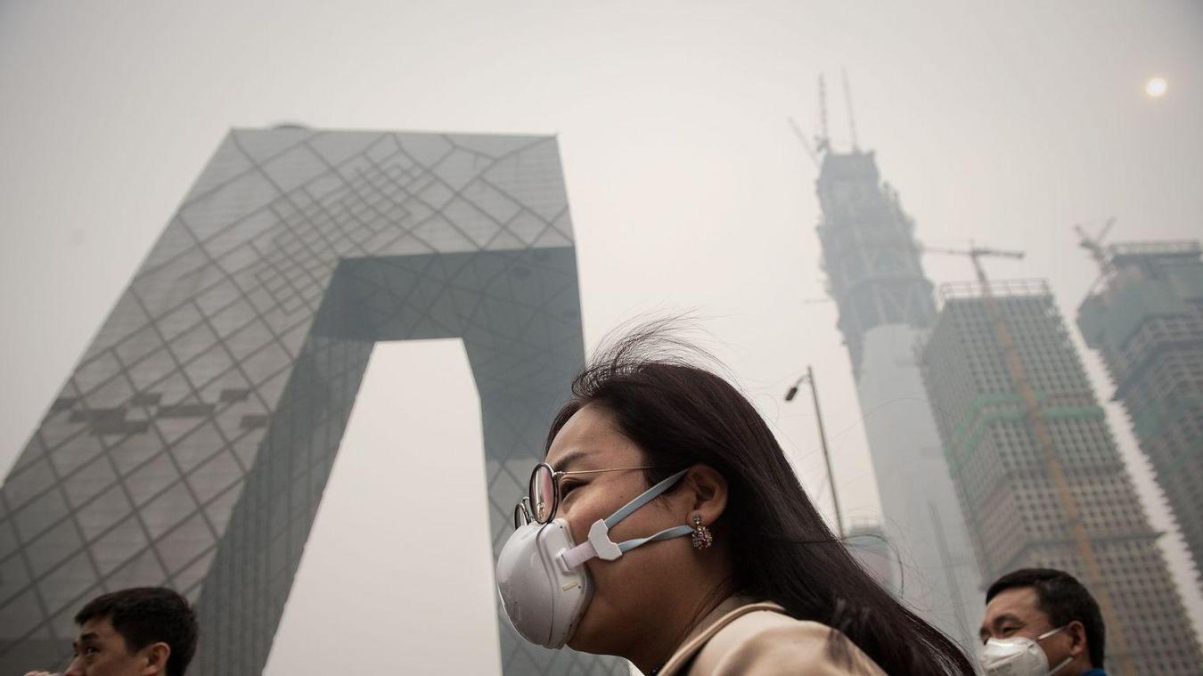 Les photos satellites de la Nasa montrent une réduction significative de dioxyde d'azote en Chine.