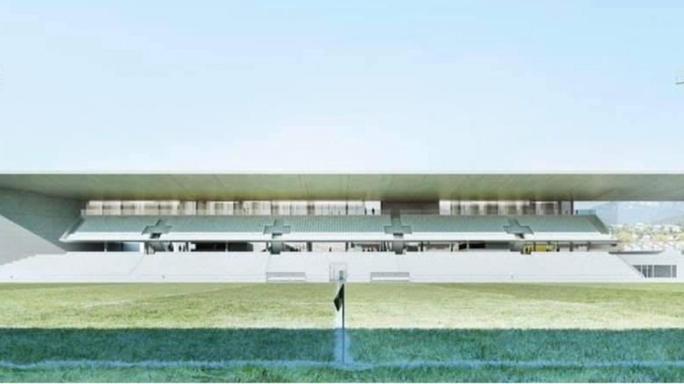 D'après l'AS Steenvoorde, voilà à quoi pourrait ressembler le prochain CCFI stadium.