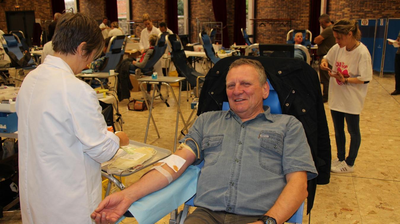 Les collectes de sang n'ont plus cette figuration. Les mesures sont désormais drastiques (photo d'archives)
