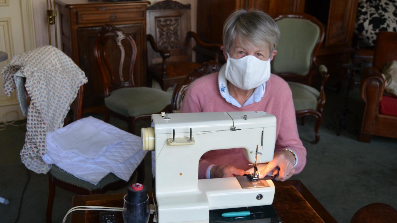 Christine Dhorne, d'Aire-sur-la-Lys, s'est joint au mouvement.