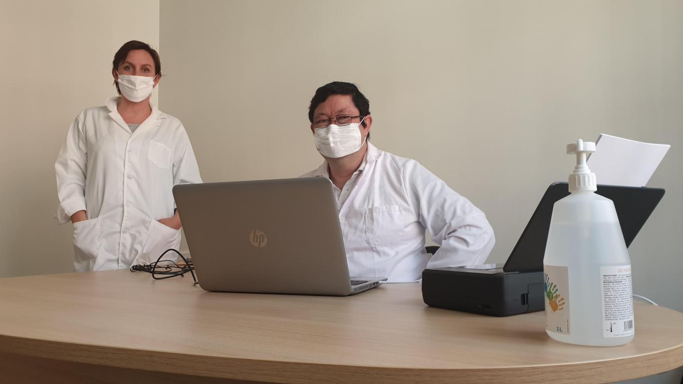 À Bapaume, le centre Covid-19 voit le nombre de consultations monter en puissance