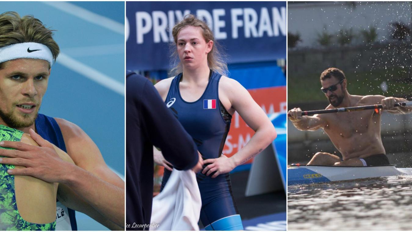 Jimmy Gressier, Pauline Lecarpentier et Maxime Beaumont sont trois athlètes qui avaient de grandes chances de participer aux Jeux olympiques.