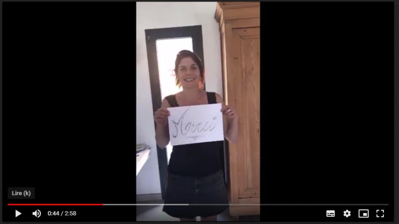 Lillers : la compagnie Nif Naf soutient les soignants avec une vidéo