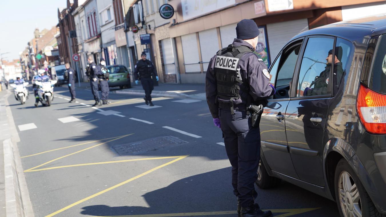 Les contrôles sont réguliers à Calais.