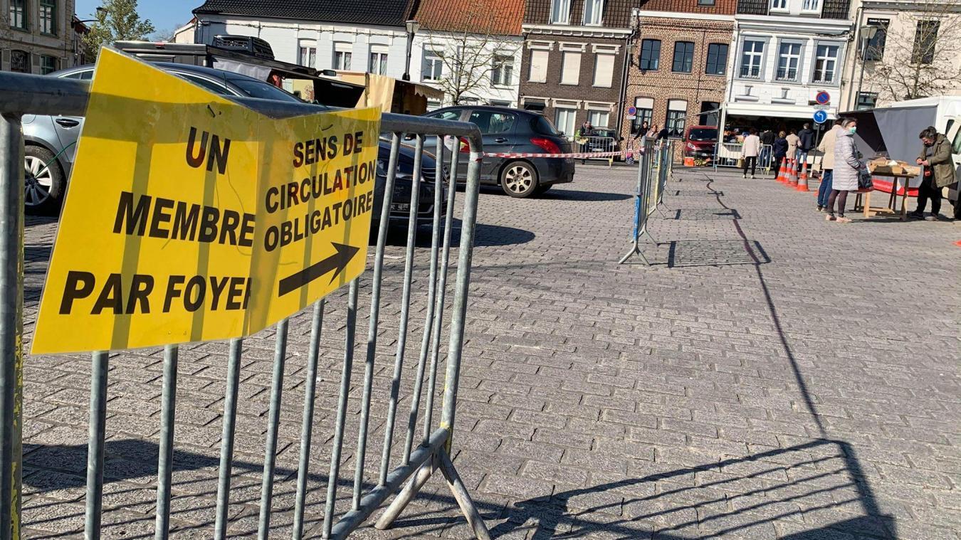 Un samedi matin comme un autre au marché de Steenvoorde?