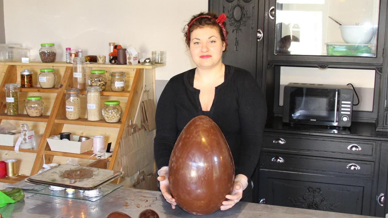 Il y a un an, Pauline Deligne a ouvert l'Atelier gourmand dans l'ancien restaurant Au Fil de l'Eau.