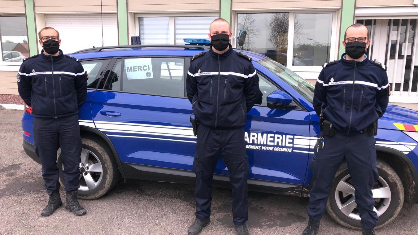 La gendarmerie témoigne sa gratitude pour cette action « bénéfique et totalement désintéressée  ».