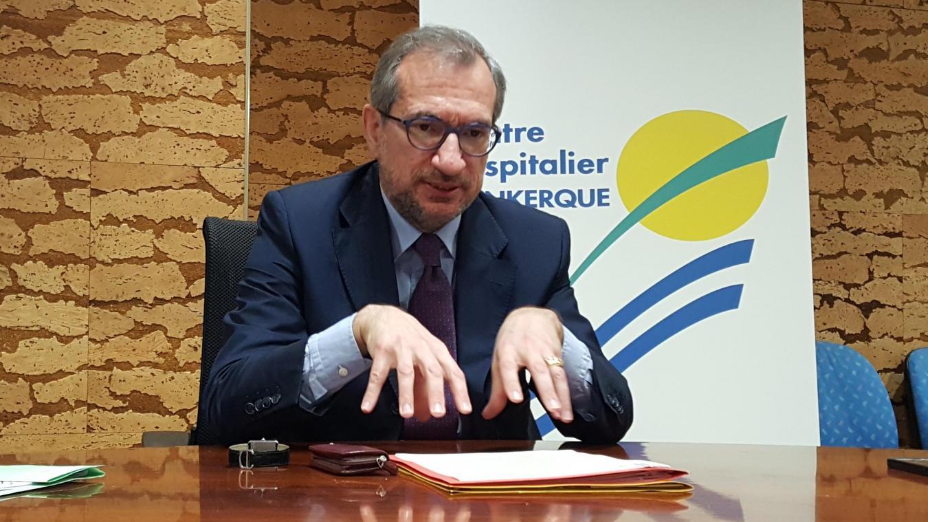 Bruno Donius, directeur du Centre hospitalier de Dunkerque (CHD), dresse un bilan de la situation.