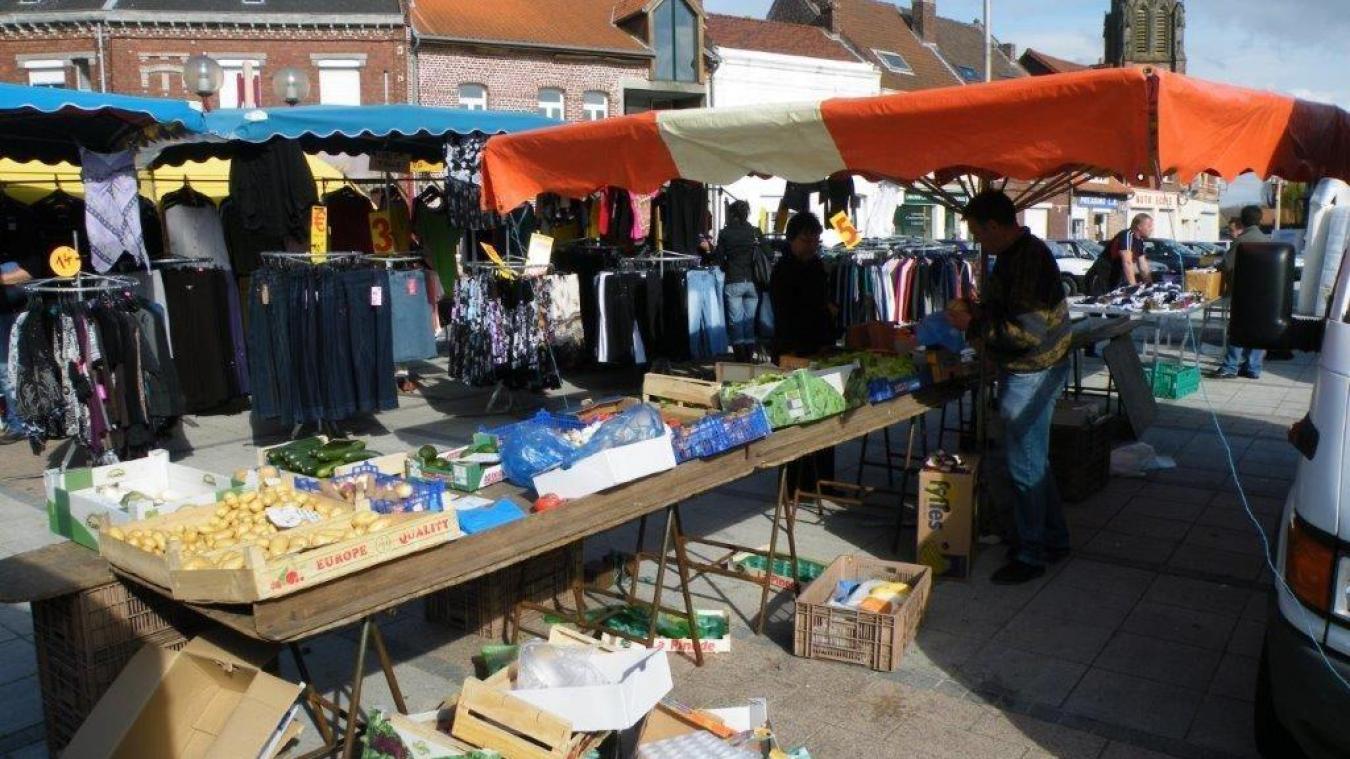 Plus aucun commerçant sur le marché Vitryen.