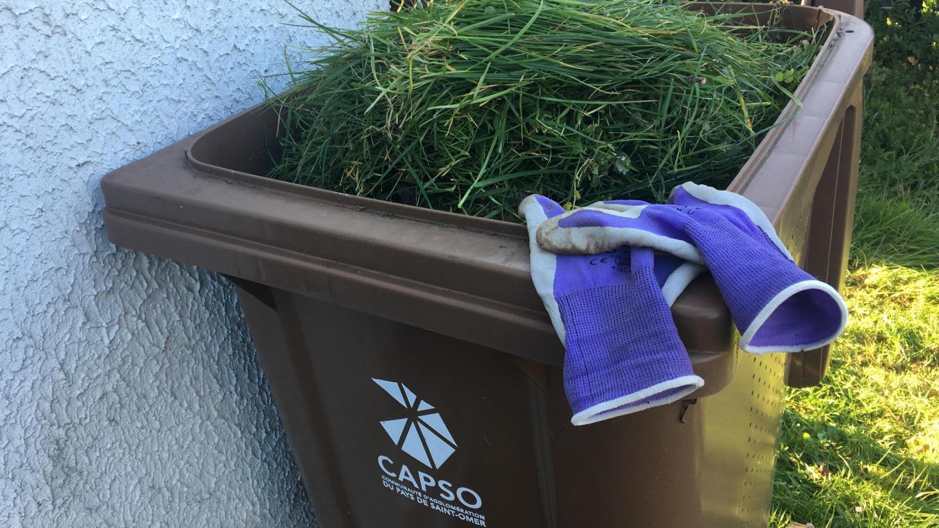 Vous avez peut-être profité des beaux jours pour remplir vos bacs d'herbe et branchages.