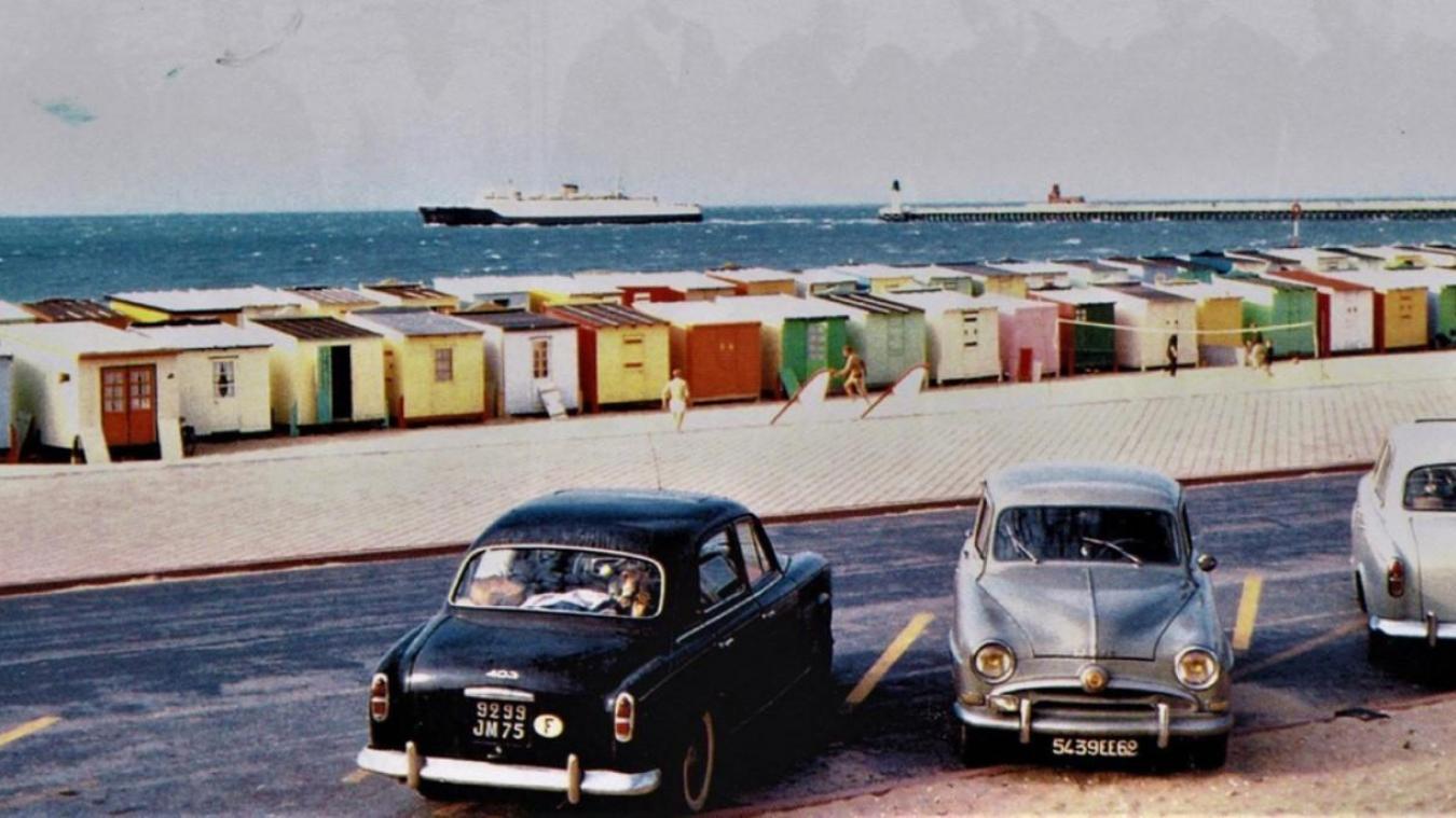 Les chalets de Calais étaient-ils plus beaux avec des couleurs ?