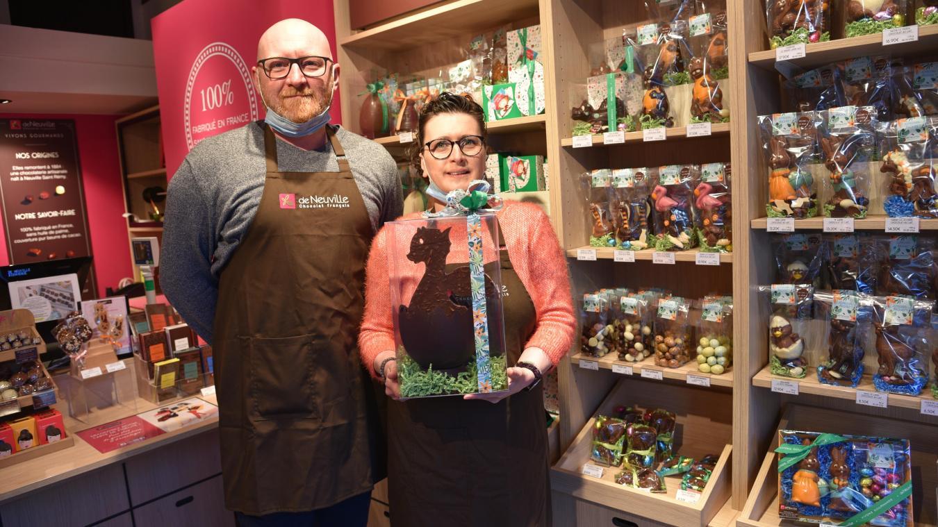 Delphine et Christophe Wallet ont ouvert leur boutique le 6 avril 2019.