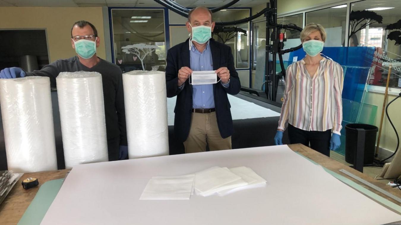 Opération inédite pour fabriquer 10 000 masques dans le Montreuillois