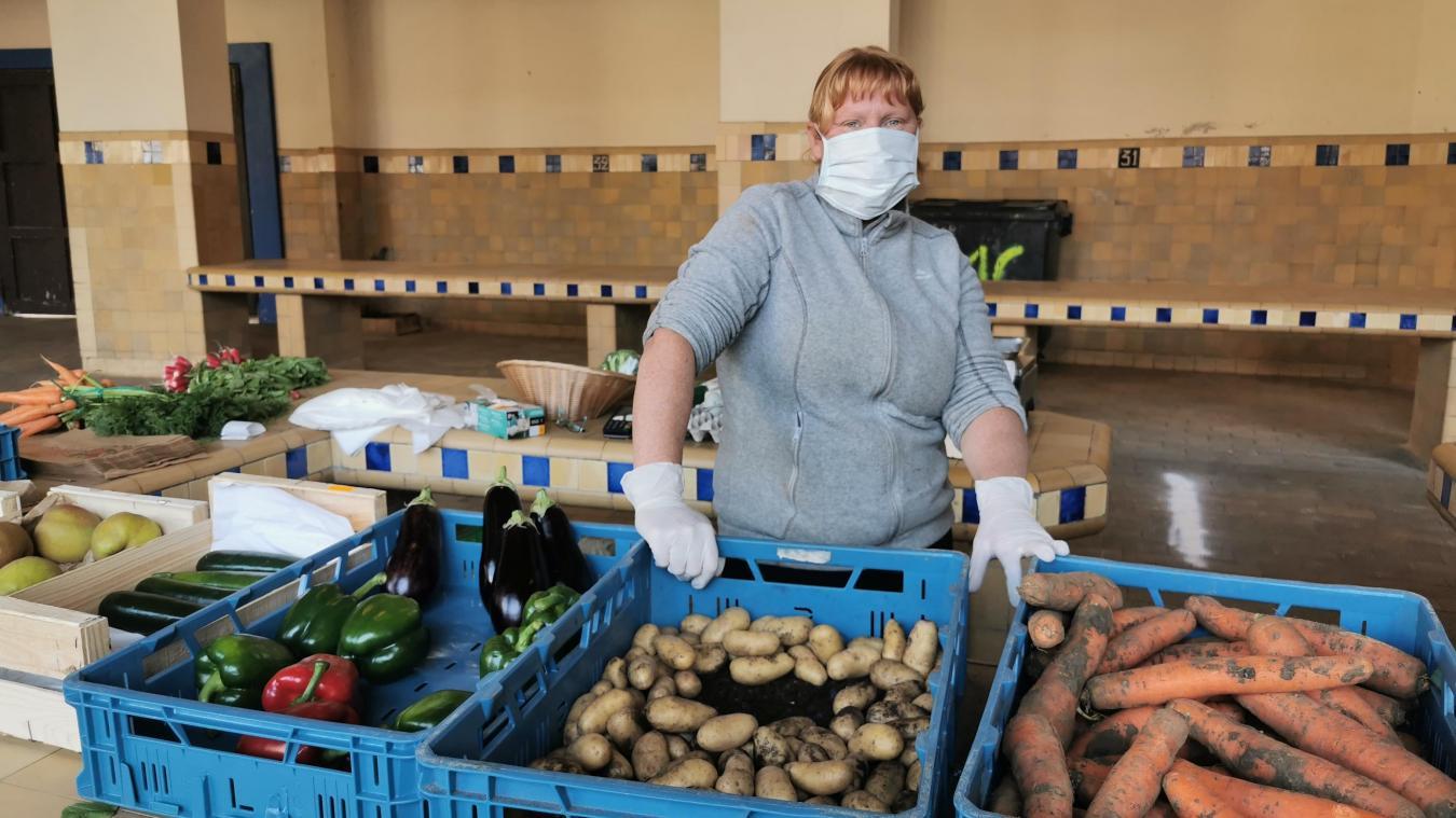 Le marché du Touquet a rouvert ce jeudi matin