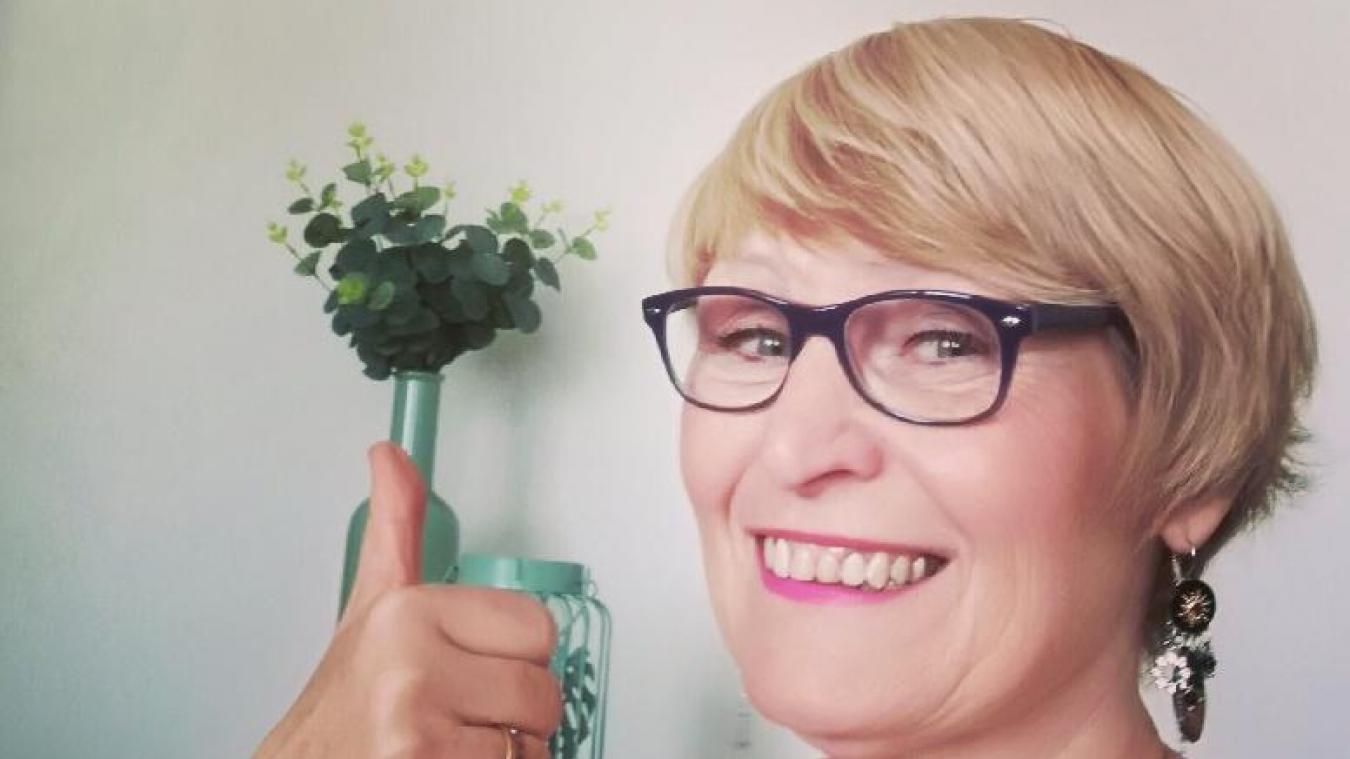 A travers ses deux pages Facebook, Marie-Ange Lamour choisit la bienveillance et le bon côté des choses.