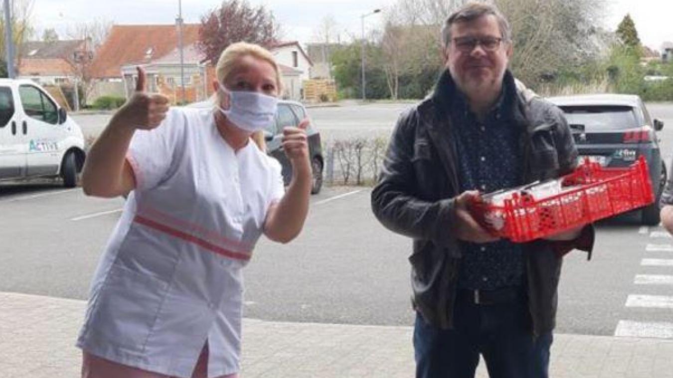 Isbergues : le restaurant Le Buffet régale les soignants
