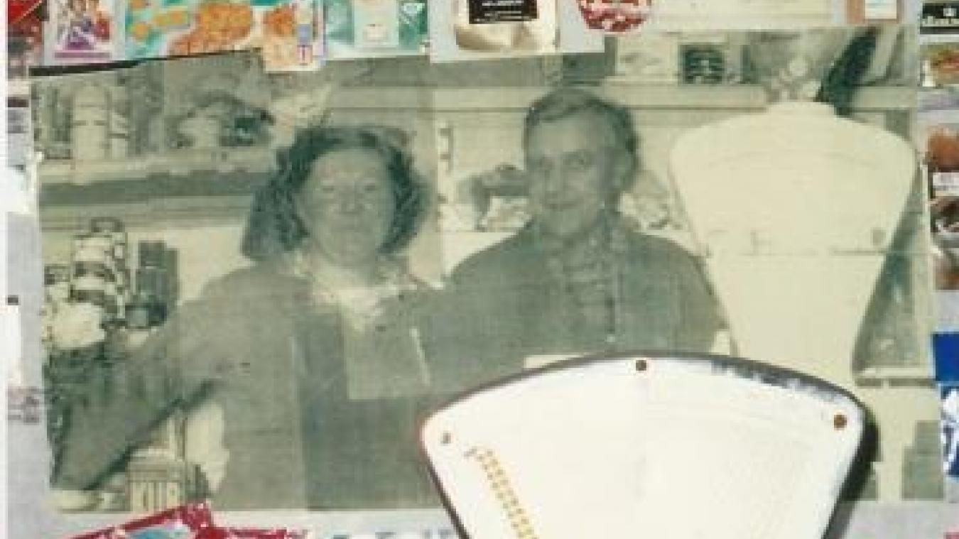 Émilienne et Roger Defebvre en 1960.