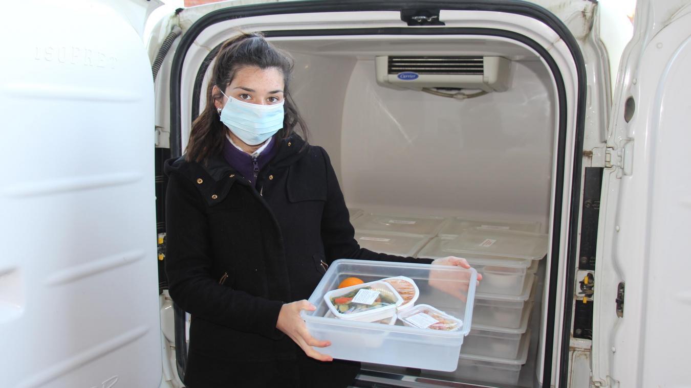Plus de 2 500 repas sont distribués chaque mois.