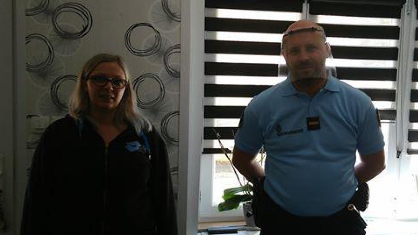 Lespesses: un beau geste envers les gendarmes