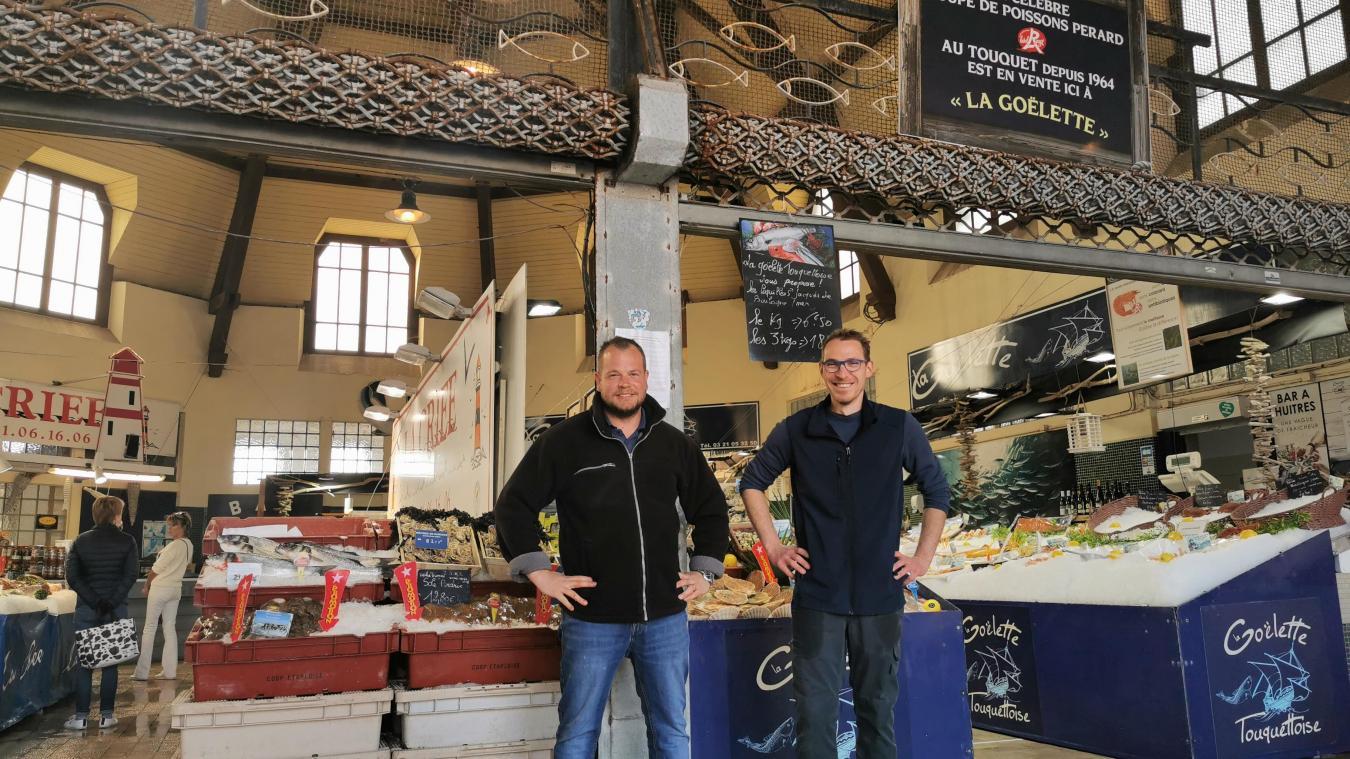 Frédéric Goulois et Pierre-Olivier Dufresne peuvent à nouveau proposer du poisson en quantité et en diversité !