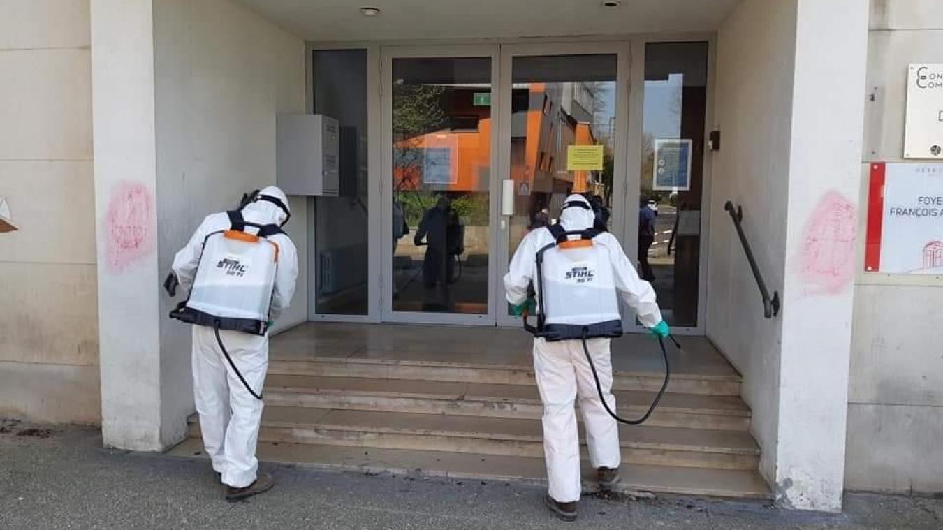 Béthune : la Ville étend son opération de désinfection
