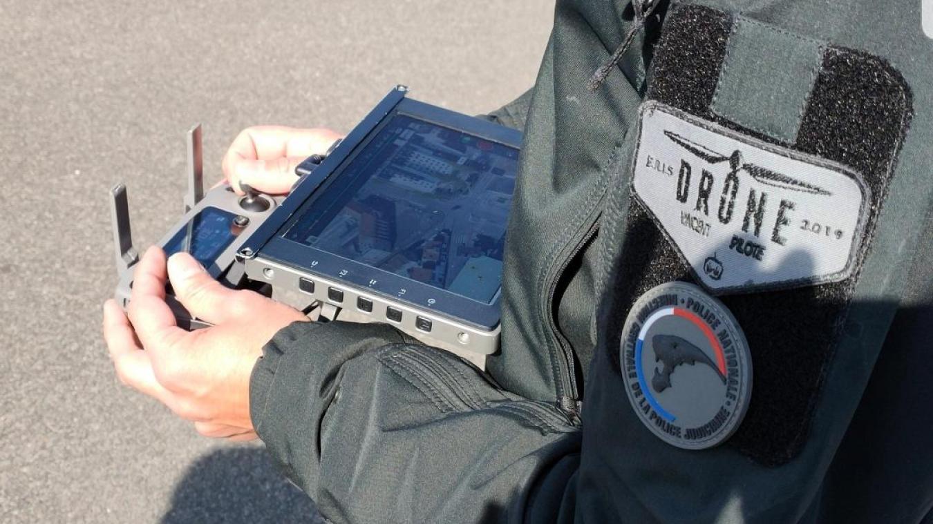 Béthune : les forces de police épaulées par un drone