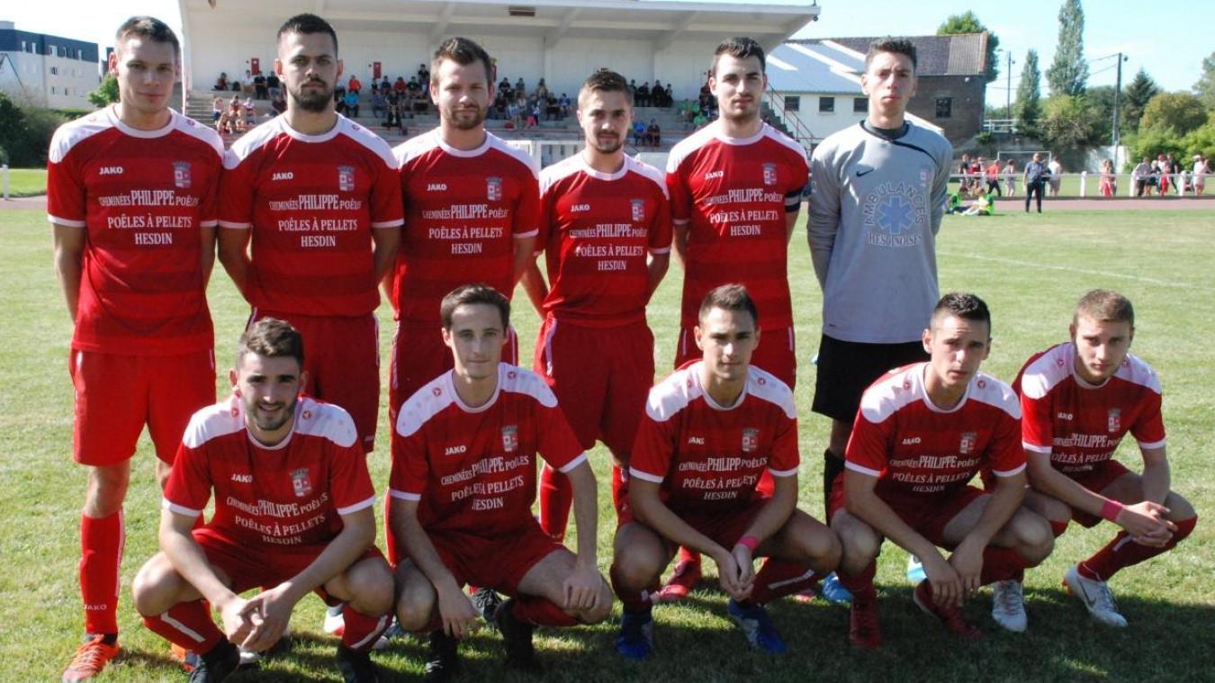 Hesdin jouera la saison prochaine en Régionale 3.