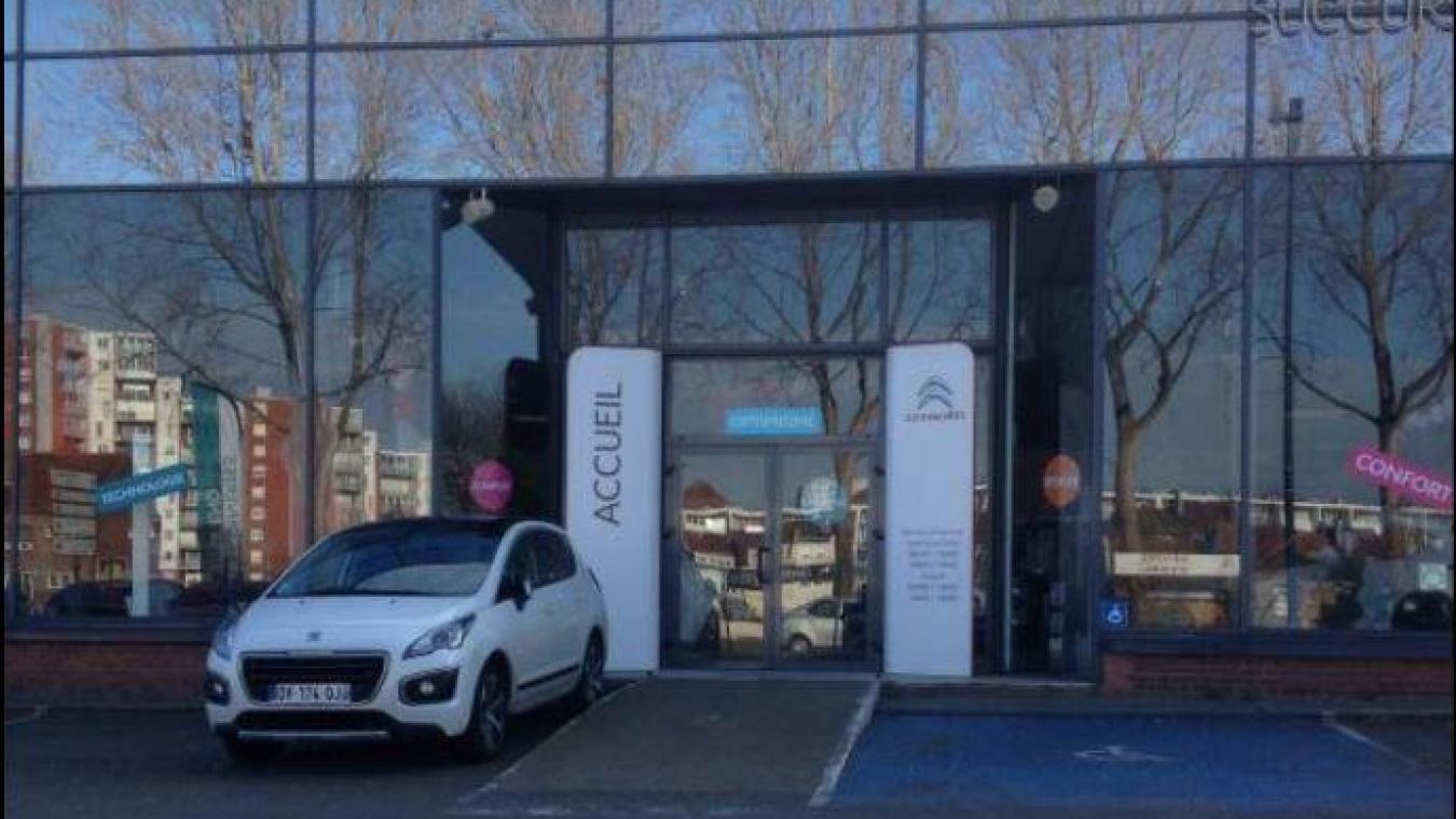 L'atelier après-vente de Citroën Dunkerque n'est ouvert que pour les personnes en 1re ligne qui luttent contre le coronavirus.