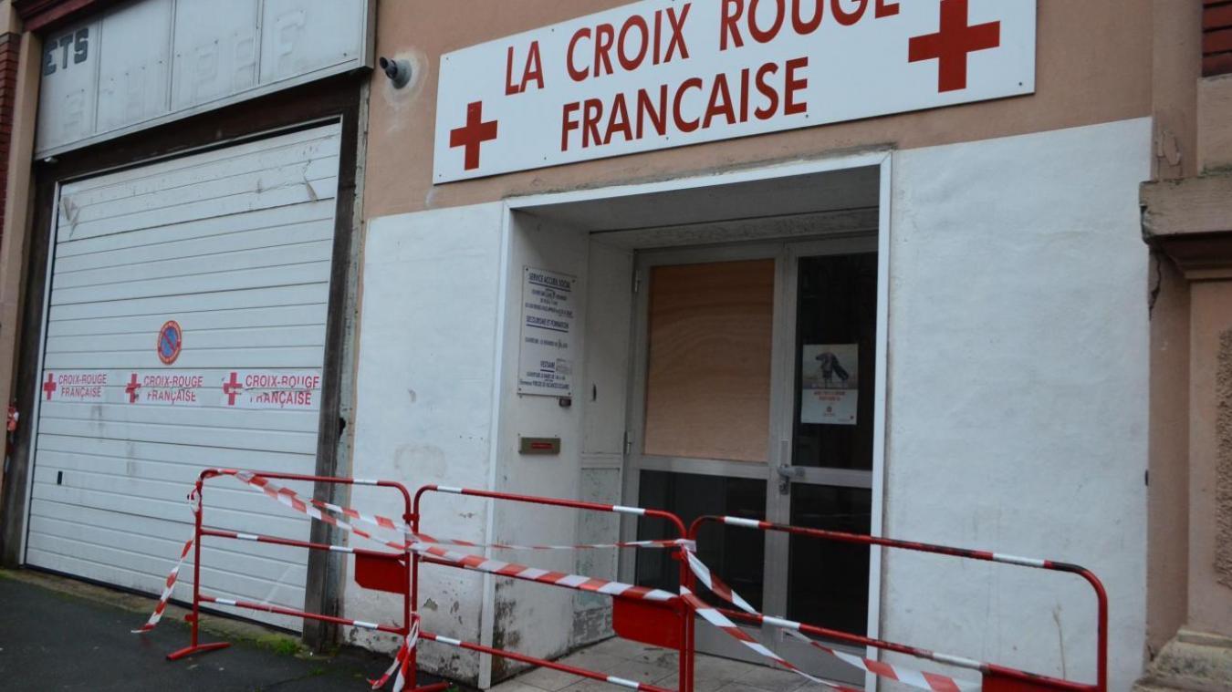 L'incendiaire présumé de la Croix-Rouge d'Hazebrouck devant le tribunal