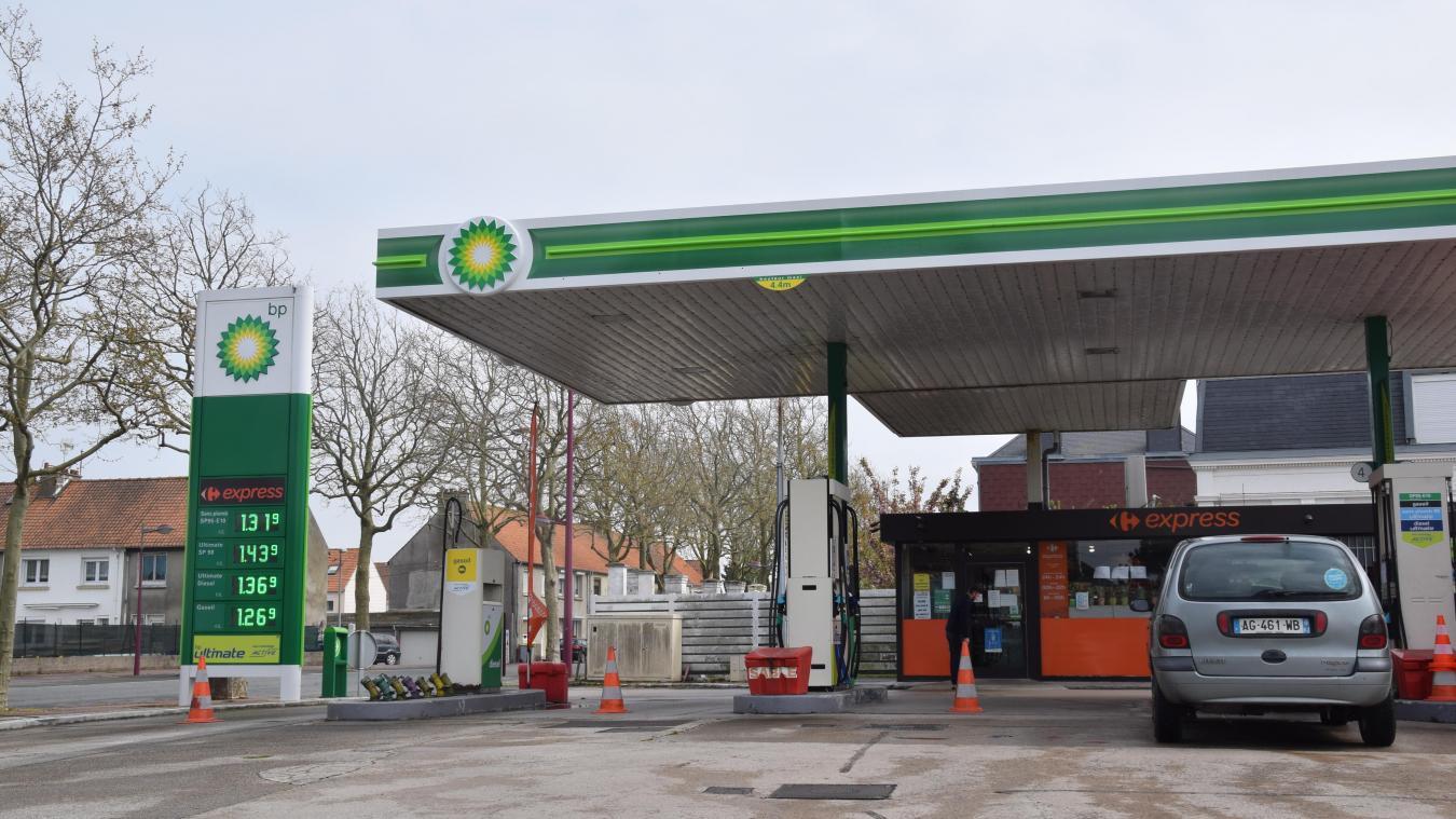 La station BP de la route de Saint-Omer ne sert plus de clients depuis ce lundi 20 avril.