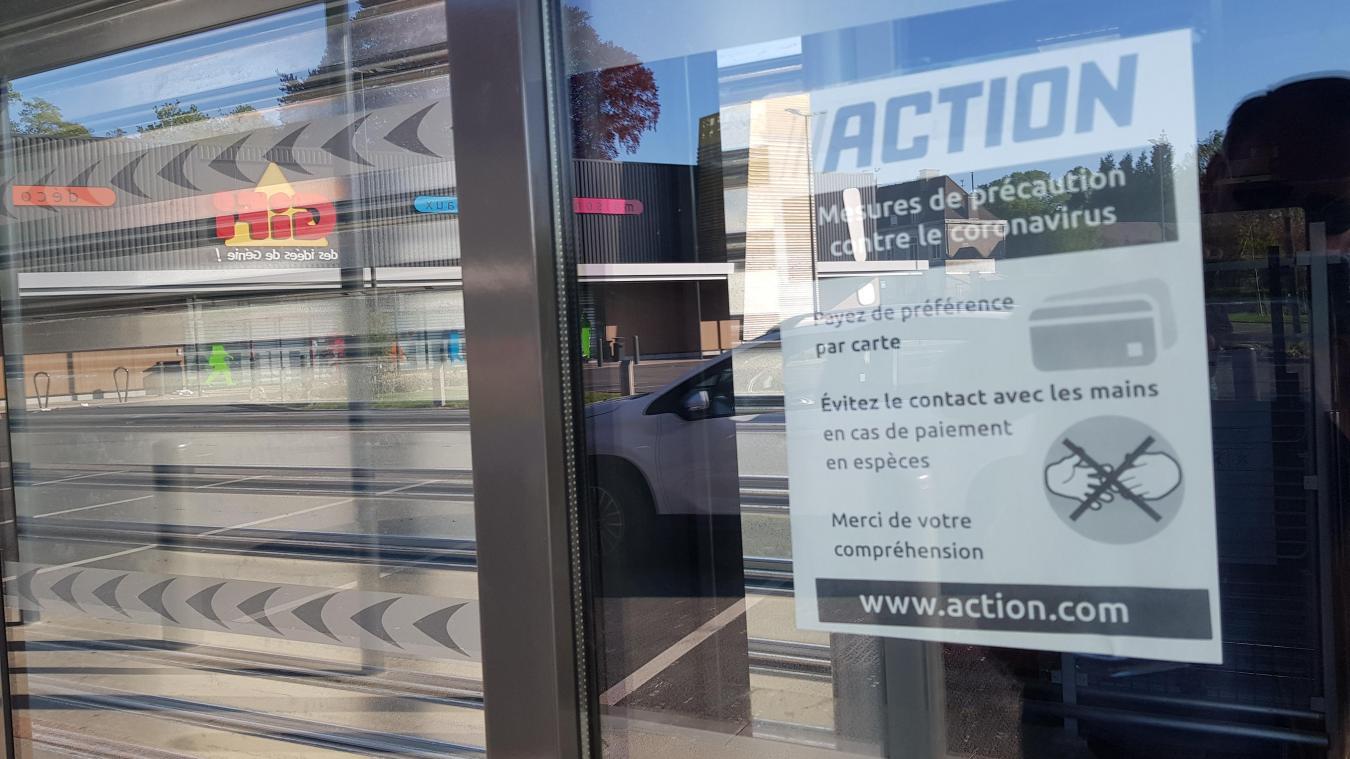 Le magasin Action de Fouquières-les-Béthune a rouvert ses portes