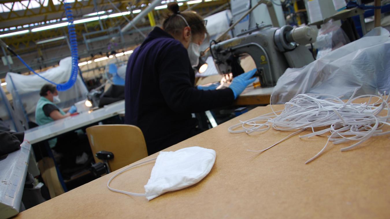 Les masques seront en tissu, donc lavables et réutilisables plusieurs fois selon les instructions données par le fabriquant Lener-Cordier.