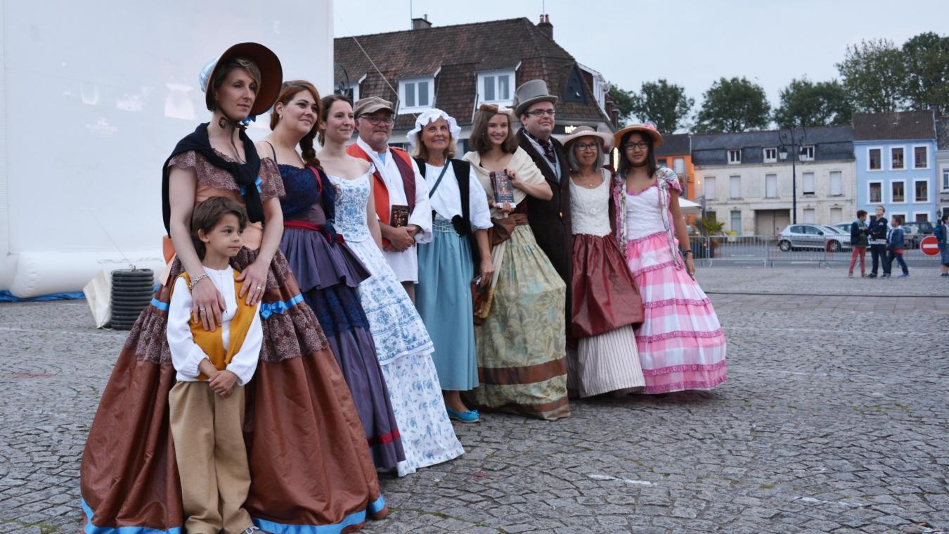 Les personnages des Misérables devraient intervenir au cours de l'été lors de petits événements dans la ville.