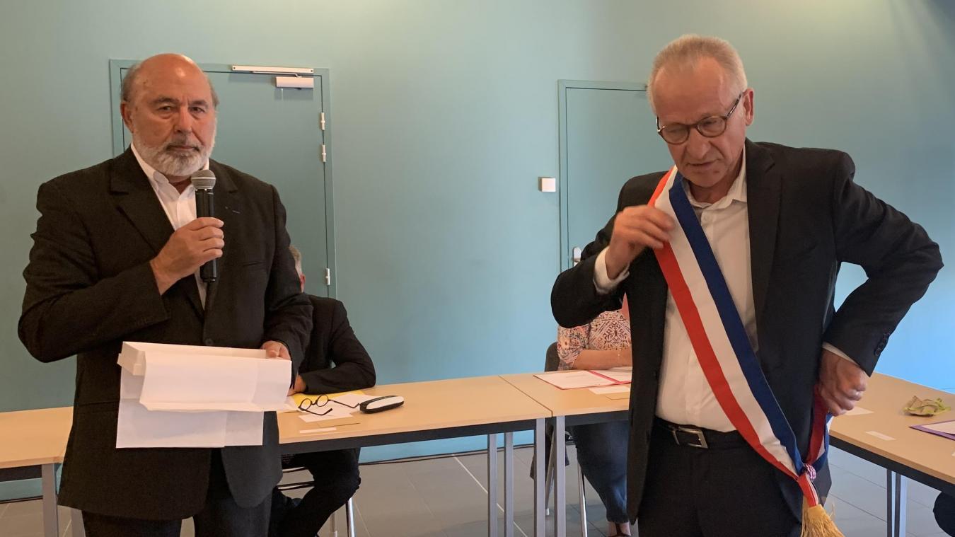 Le 25 mai, Jacques Bléja devenait officiellement maire de Bierne. Mais, quatre mois plus tard, un recours est toujours en suspens.