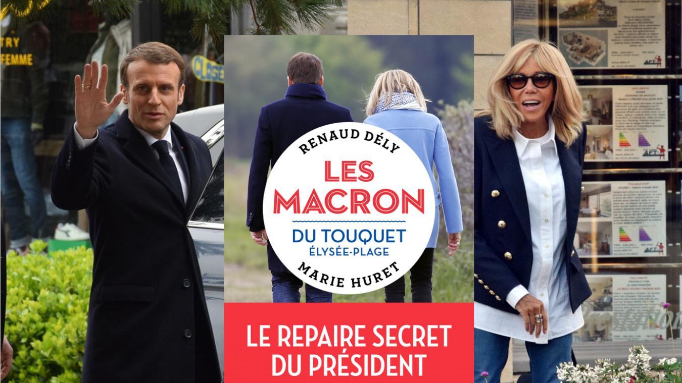 Même si chacune de leur escapade touquettoise est synonyme d'événement, pour le couple Macron, Le Touquet, c'est leur paradis, « et très peu de monde y a accès » selon les auteurs du livre.