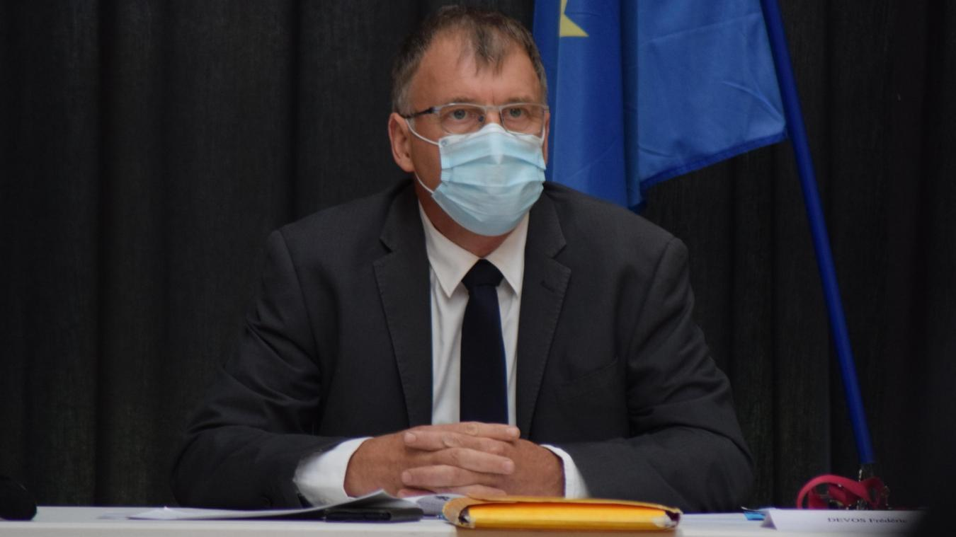 Avec la crise sanitaire, le maire, Frédéric Devos, veut se monter prudent dans les projets en cours.