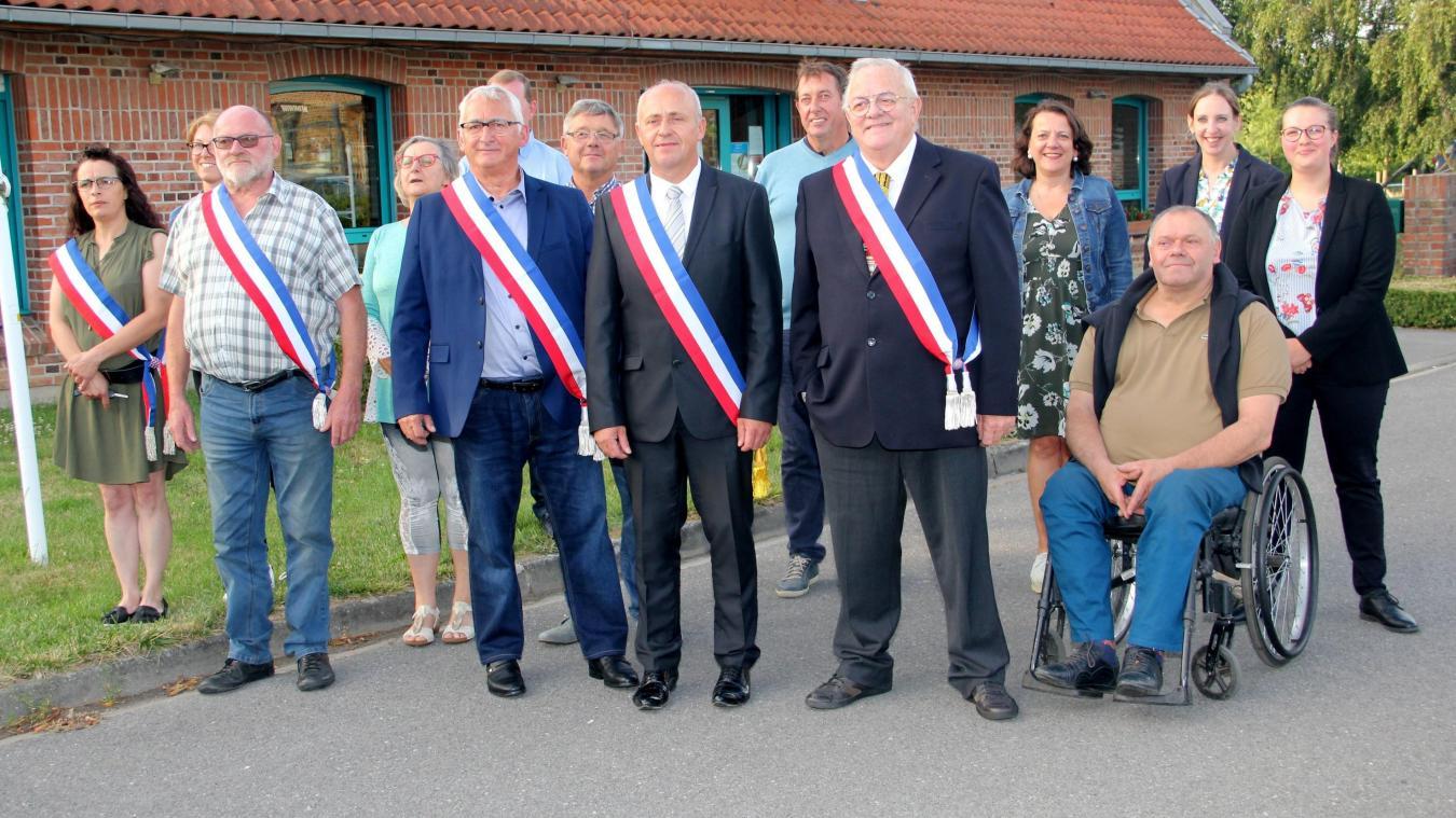 Thierry Dehondt devient maire à Noordpeene