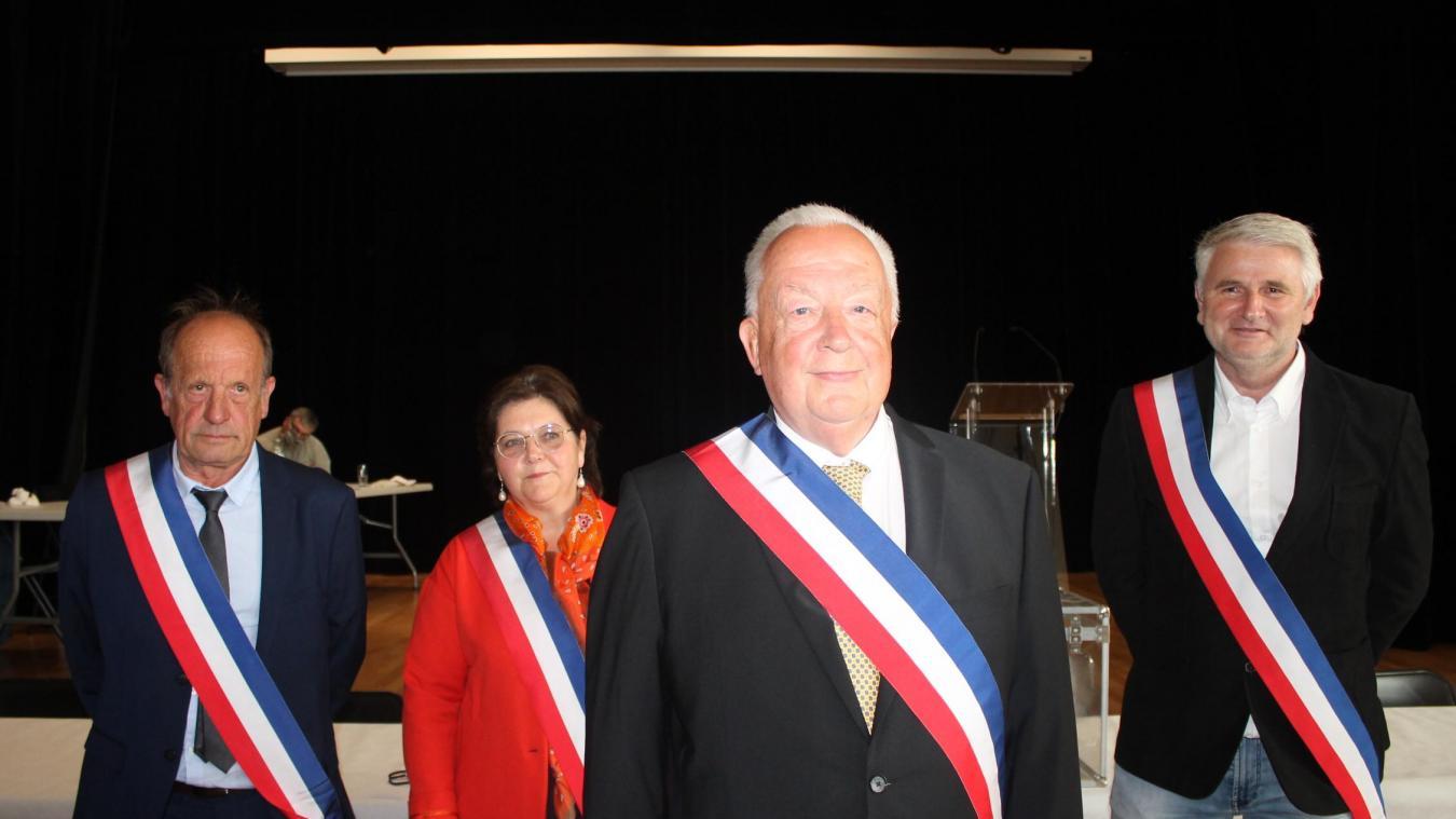 Marœuil : Jean-Marie Truffier renfile l'écharpe tricolore