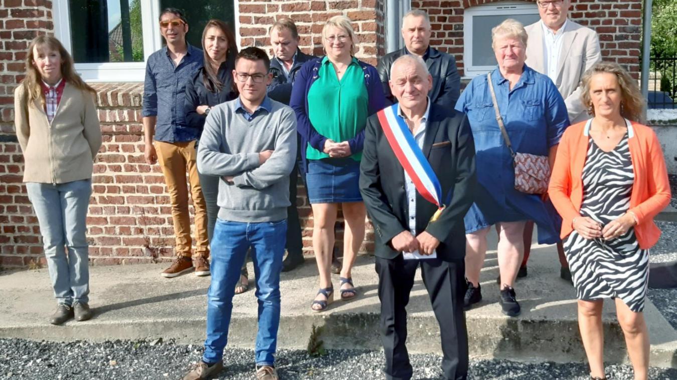La nouvelle équipe municipale.