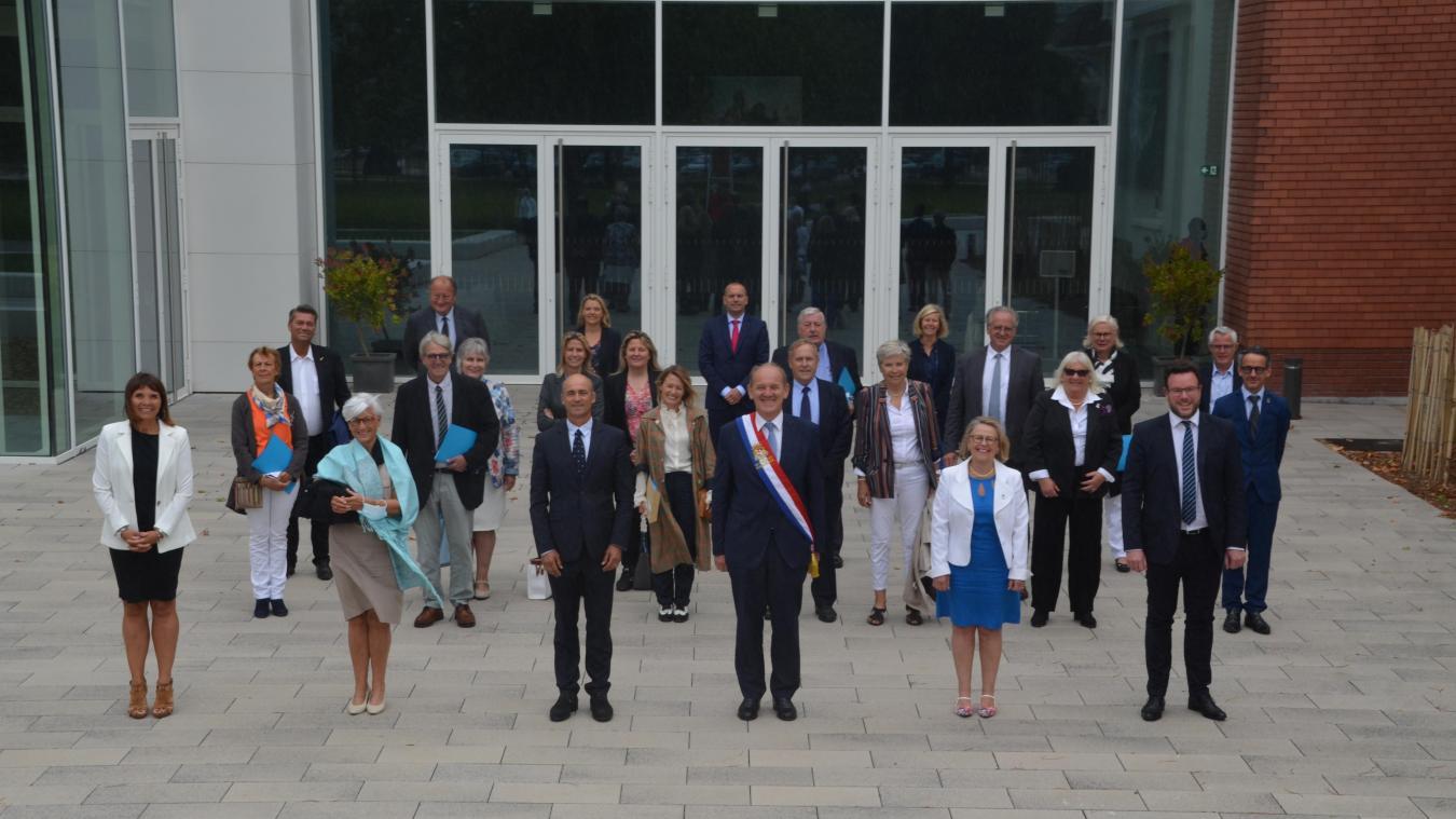 Distanciation oblige, le conseil s'est réuni au Palais des Congrès, un symbole fort !