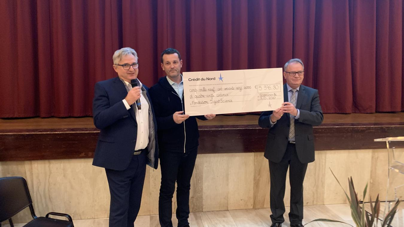 Près de 6 000 euros ont été remis à DigestScience à l'issue de l'édition 2019, qui s'était déroulée à Steenvoorde.