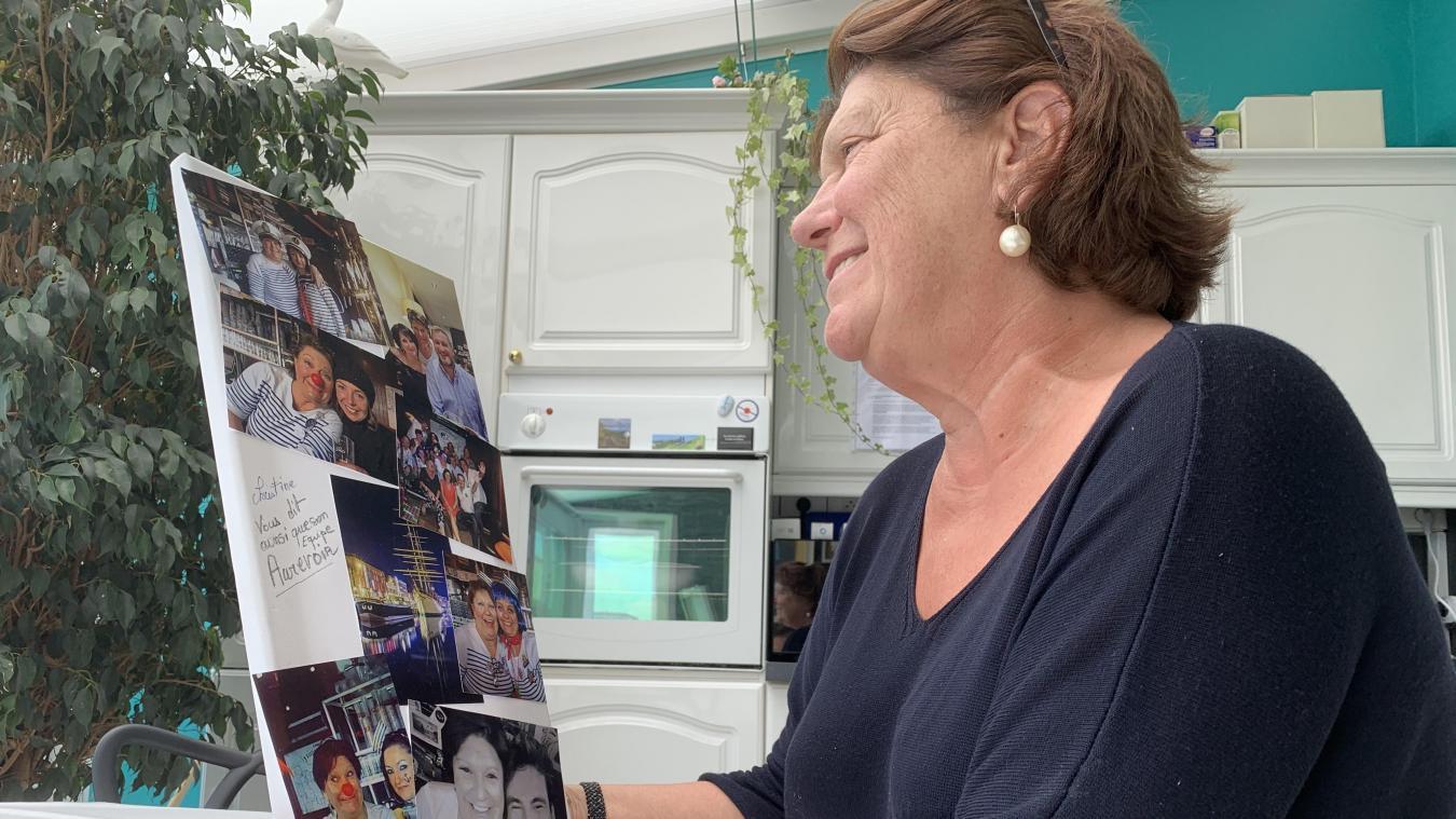 Depuis qu'elle a rendu les clés de son établissement le 30 juin dernier, Christine Marquis réapprécie écouter de la musique, chez elle, à Malo.