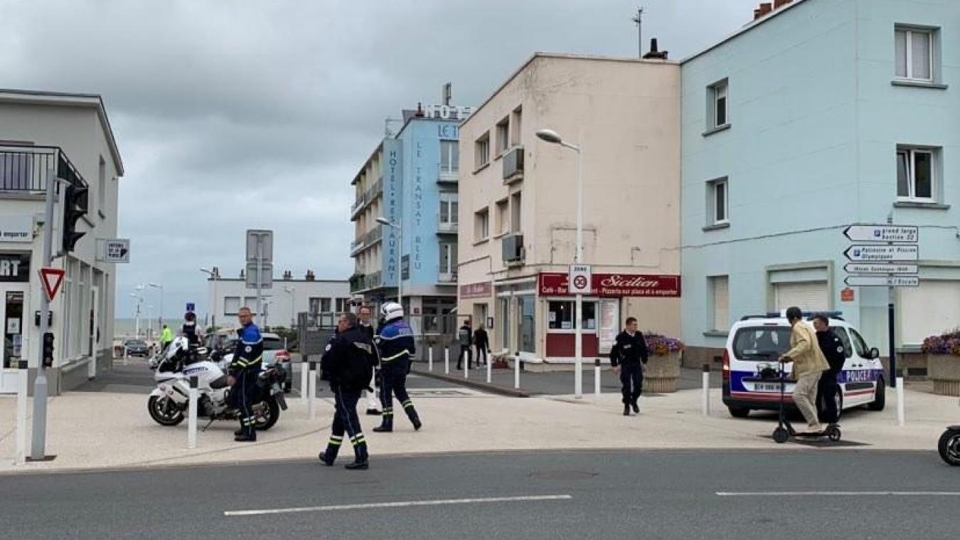La police a été appelée sur le temps du midi, ce jeudi 9 juillet.