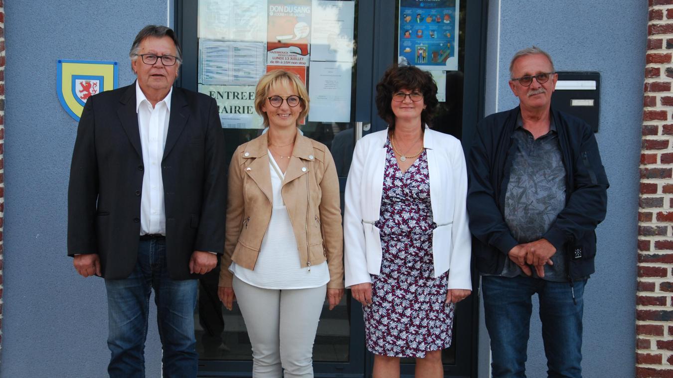 Trois adjoints accompagneront le maire de Thiennes durant ce mandat.