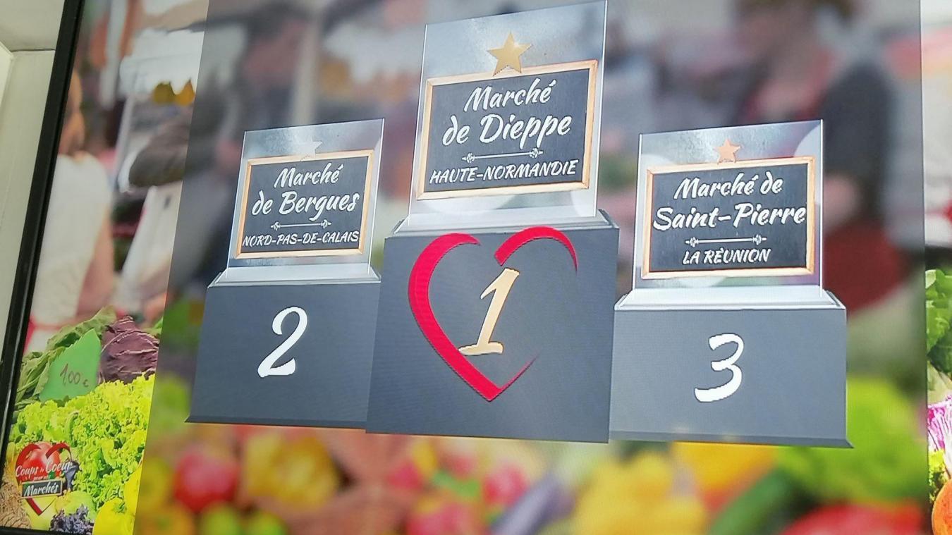 C'est le marché de Dieppe qui l'a remporté.