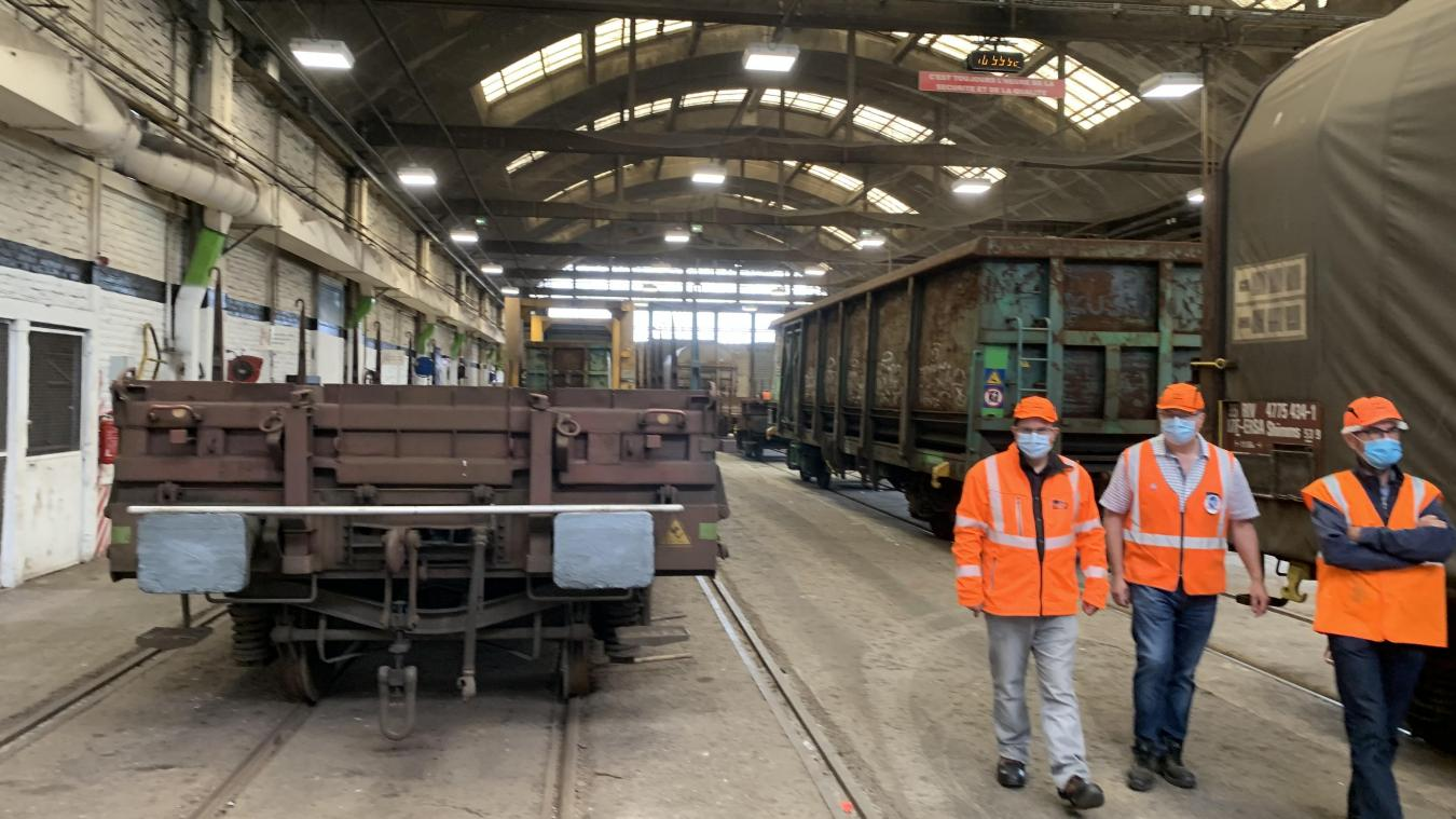 Les agents ont échangé mercredi dernier sur les différentes hypothèses qui pouvaient expliquer la décision de la SNCF de fermer l'atelier dunkerquois.
