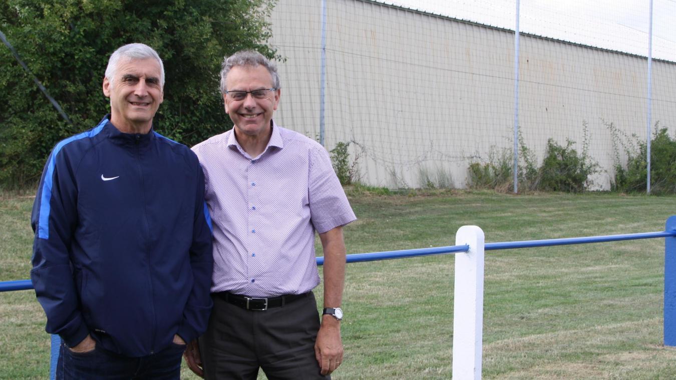 Michel Ettorre et Serge Hermant, prêts pour une belle saison.