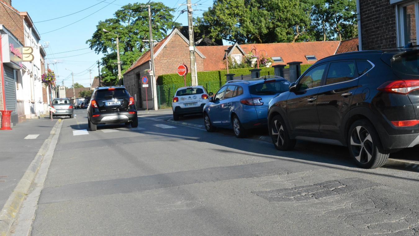 Rue Gloriant, les réseaux d'assainissement seront revus et la rue sera ensuite rénovée.