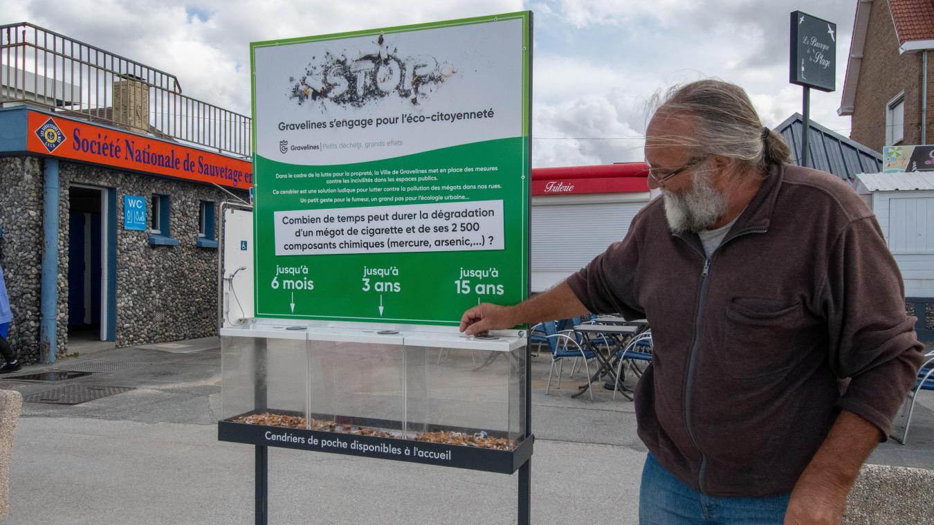 Le plan propreté de la Ville compte notamment des actions comme la distribution de cendriers de poche ou encore l'aménagement de bas à mégots pédagogiques à Petit-Fort-Philippe.