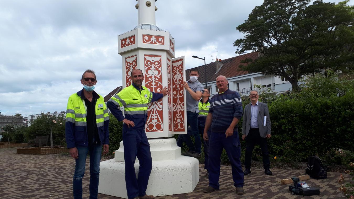Le service jardin de la ville de Calais et le lycée Normandie Niemen ont fait équipe sur ce projet de l'Amvpac.